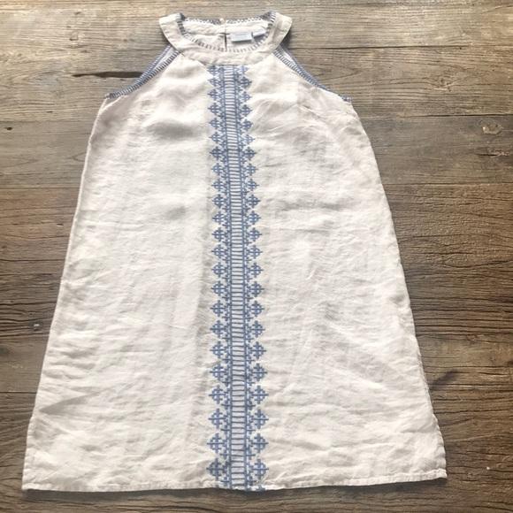 Sigrid Olsen Dresses & Skirts - 🦋SALE🦋Sigrid Olsen Linen Shift Dress XS